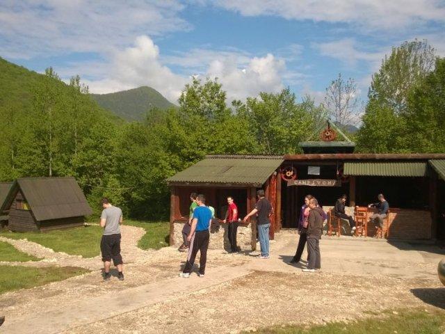 Rafting Camp Ivona - Foča, Tara BESTPREISGARANTIE