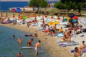 gradska plaža crikvenica